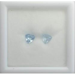 Colorado Aquamarine Pair - Trillion Cut1.06TCW