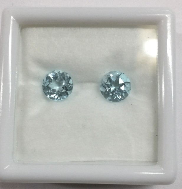 Beautiful Round cut Colorado Aquamarine